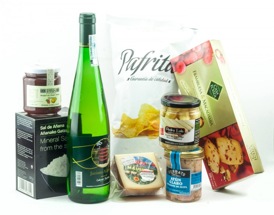 Lote ed productos Gourmet